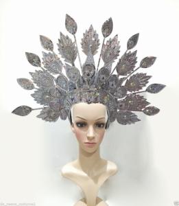 Da Neena H170 Dancer Showgirl Cabaret Thai Asian Peacock
