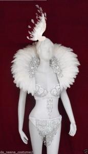 C0052 White Swan Costume Set
