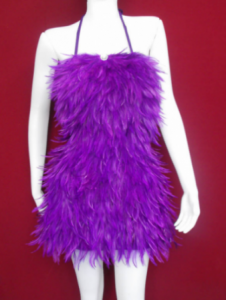 FP Feather Vegas Dance  Dress S-M