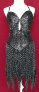 B5 Bugle Beaded Dress S-M