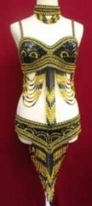 GB Belly Dance Costume size 4-6