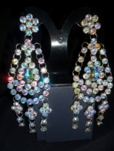 J022 Swarovski Crystal Earrings