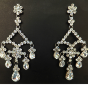 J021 Swarovski crystal Earrings
