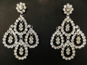J018 Swarovski crystal Earrings