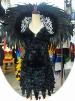 EVITA Feather Costume Backpack