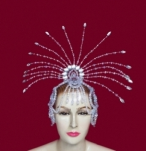 H020d Crystal Headdress