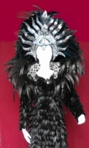 Showgirl Headdress Backpack