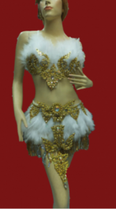 C048 Feather Costume Set