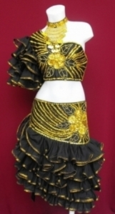 M059 Rumba Spanish Dress