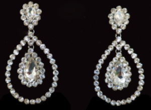 J0200 Crystal Earrings