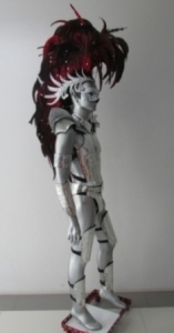 C061 Mohawk Iron Hero Man Costume Set