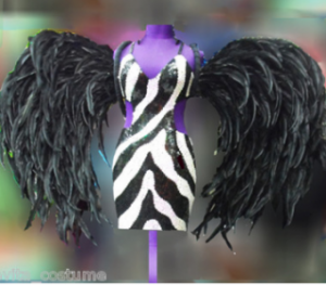 C018S Devil Feather Wings