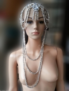 H149 Indian Princess Crystal Showgirl Headdress