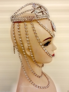 HQC15001 Tide of Sea Showgirl Headdress Crown