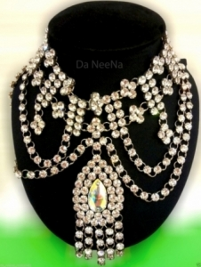 HQC15009 The Power of Lady  Crystal Necklace