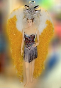 C576 Sun Flower Angel Taboo Costume Set