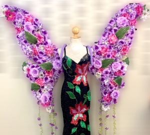 C577W The Flower Princess Angel Wings