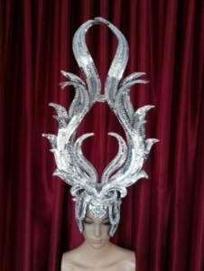 H1NP Satan Witch Showgirl Headdress