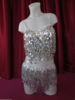 R3 Little Party Girl Sequin Costume