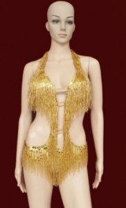 G8S Dancing with the stars Showgirl Leotard size S-M