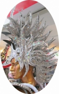 H100 Iron Man Alien Punk American Indian Showgirl Headdress