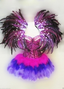 C080 Paradise Bird  Costume set
