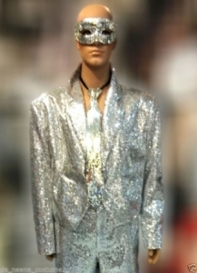T611 Michael Suit Showgirl Coat Outwear Blazer Jacket