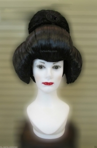 H184 Lady Japanese Geisha Wig Hair Showgirl Headdress