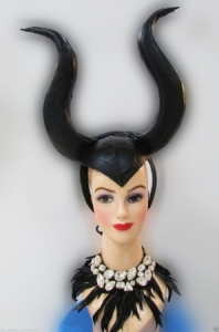 H157 Little Devil Princess Showgirl Maleficent Angelina Jolie Showgirl Headdress