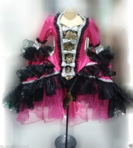 G0466 European Noble Showgirl Stage Dance Jacket Top Showgirl Coat