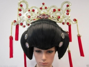 H146 Chinese China Geisha Japanese Showgirl Headdress