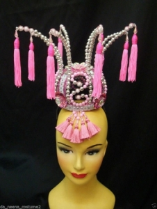 H102 Tai-Hao Chinese Cabaret China New Year Drag ShowgirlHeaddress