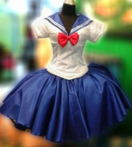 M679 Pretty Soldier Sailor Moon Dress