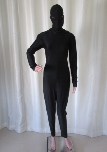 R8 Black Mask Body Bodysuit L