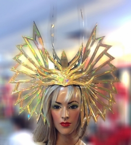 H683 Gold Bushido Blood Angel Headdress