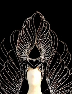C711 Shining Angel Crystal Headdress