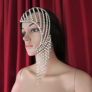 HQC742 Shiny Crystal Headdress