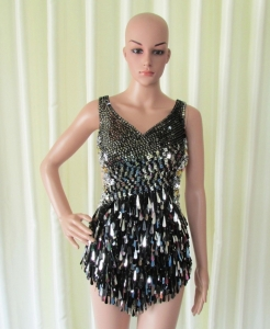 R42 Sexy Showgirl Dress sequins S, L