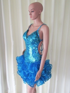 R51 Dancer Queen Showgirl Dress L