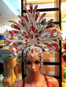 H766 Queen of Medusa Showgirl Headdress