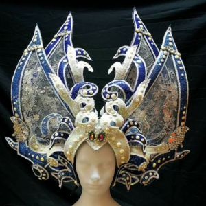 H782 Ship of the Ocean Princess Showgirl Headdress