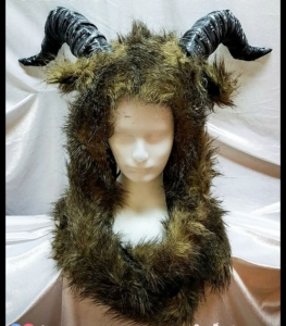 H786 Queen of Yak Showgirl Headdress