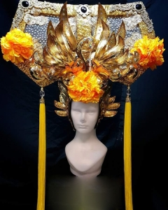 H790 Empress of Forest Showgirl Headdress