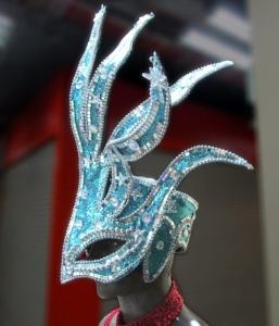 H802 Joker Alien Crystal Showgirl Headdress