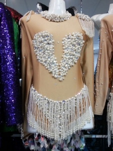 M772 Pearl Angel Bodysuit