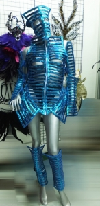 C026 Warrior Roman Holloween Robot Costume Set