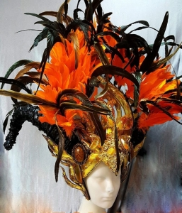 H839 The Grand monster Crystal Pageant Headdress