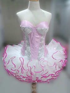 C082P Queen of Rainbow Candy Dollie Showgirl Tutu Dress