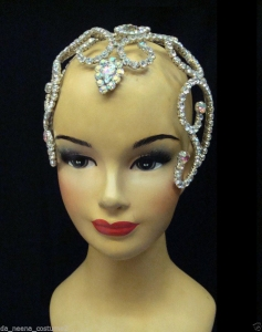 HQC17 Miss Universe World America Princess Crystal Headdress Crown