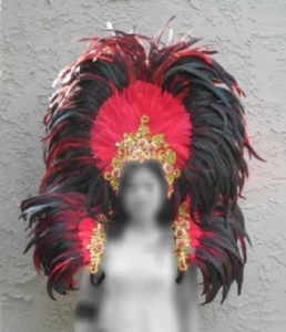 USF Headdress Backpiece